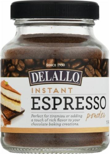 DeLallo Instant Espresso Powder Perspective: front