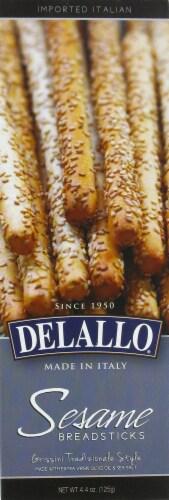 DeLallo Sesame Breadsticks Perspective: front