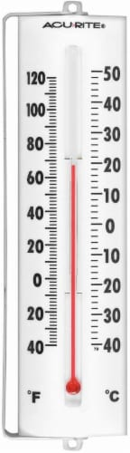 Acu-Rite® 8.5-Inch Thermometer with Swivel Bracket Perspective: front