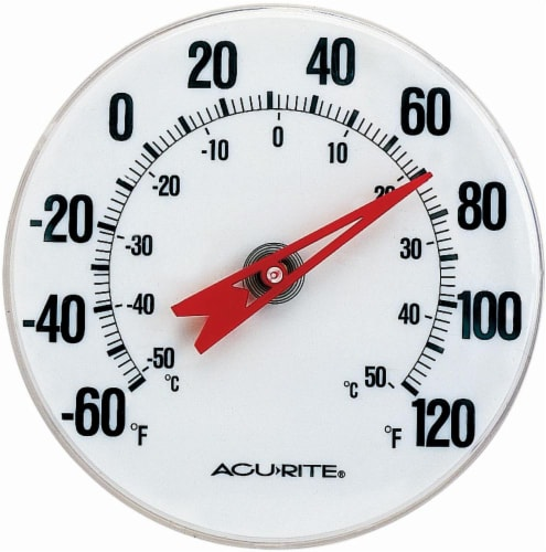 Acu-Rite Indoor and Outdoor Thermometer Perspective: front