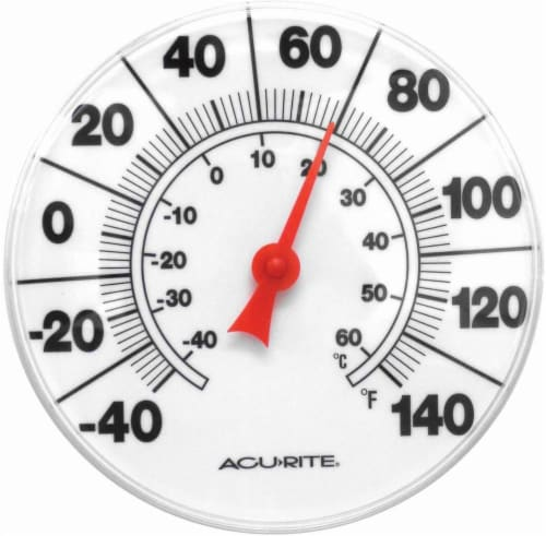 AcuRite Basic Dial Thermometer Perspective: front