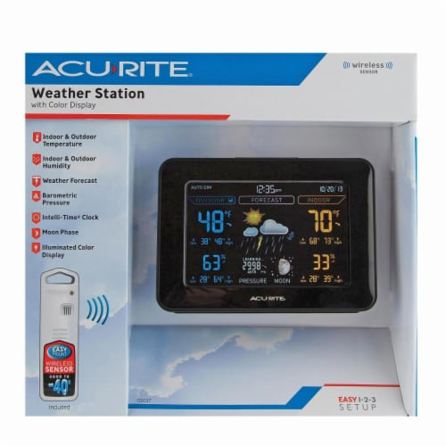 AcuRite Color Weather Station Perspective: front