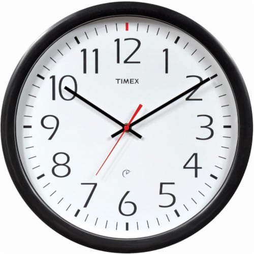 Timex By Chaney Set & Forget Wall Clock Perspective: front