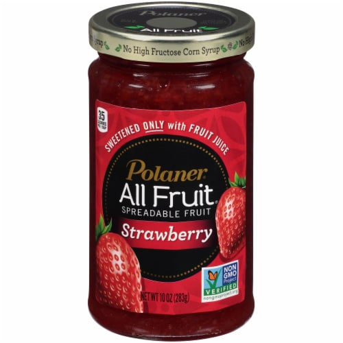 Polaner All Fruit Strawberry Fruit Spread Perspective: front