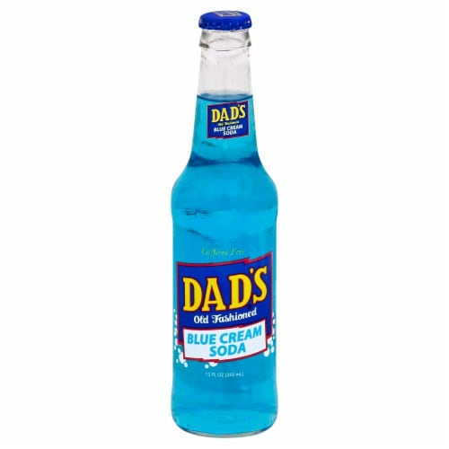 Dad's Blue Cream Soda Perspective: front