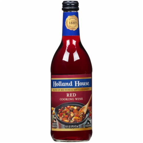 Holland House Red Cooking Wine Perspective: front