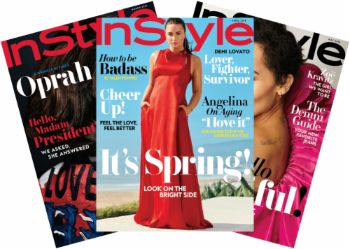 InStyle Magazine Perspective: front