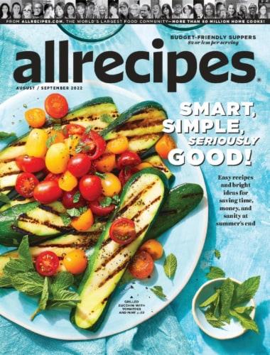 Allrecipes Magazine Perspective: front