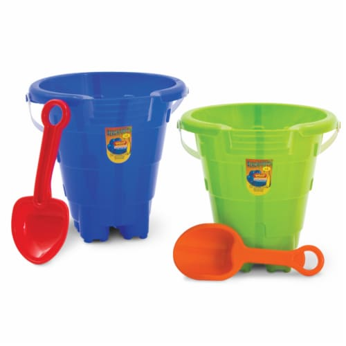 Amloid Beach Tools Castle Pail & Shovel Set - Assorted Perspective: front