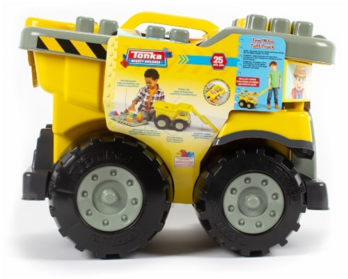 Tow N Go >> Fred Meyer Tonka Mighty Builders Tow N Go Tuff Truck 25 Pc