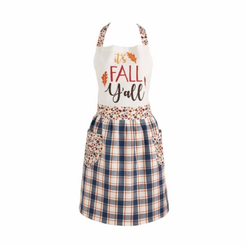 Design Imports CAMZ11354 Its Fall Y All Apron Perspective: front