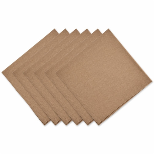 Dii Stone Solid Napkin Set/6 Perspective: front