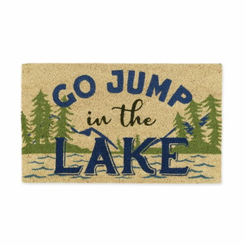 DII Jump in the Lake Doormat Perspective: front