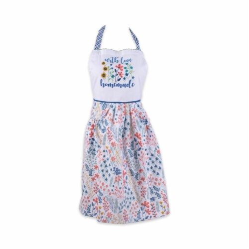Design Imports CAMZ11581 Homemade With Love Printed Apron Perspective: front
