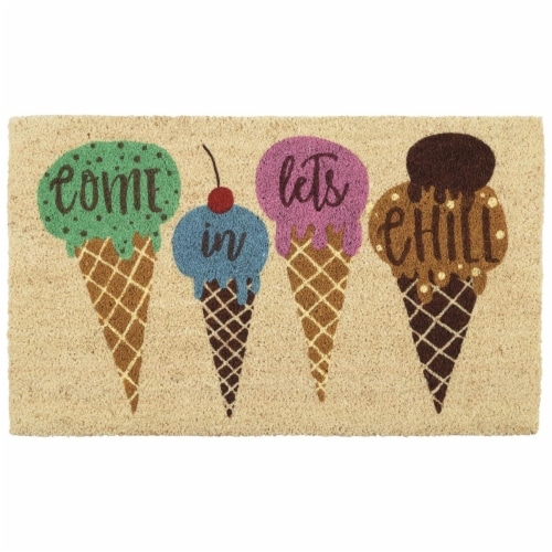 DII Let's Chill Doormat Perspective: front