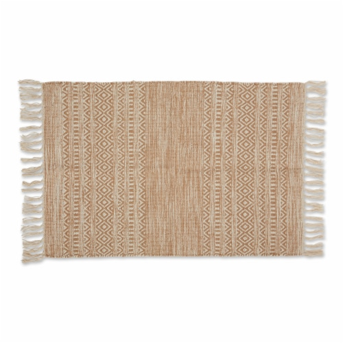 Dii Stone Textured Dobby Hand-Loomed Rug 2X3 Ft Perspective: front