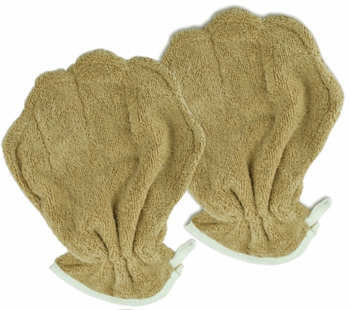 Design Imports 72582389999 Drying Pet Mitt - Pack of 2 Perspective: front
