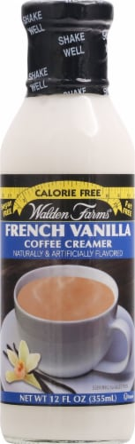 Walden Farms French Vanilla Calorie Free Coffee Creamer Perspective: front