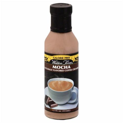 Walden Farms Mocha Calorie Free Coffee Creamer Perspective: front