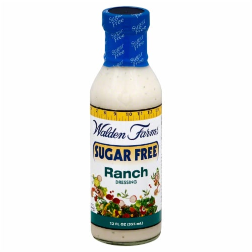 Walden Farms Sugar Free Ranch Dressing Perspective: front