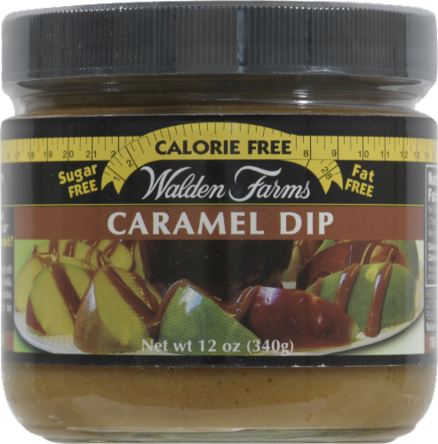Walden Farms Caramel Dip Perspective: front