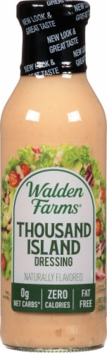 Walden Farms Calorie Free 1000 Island Dressing Perspective: front
