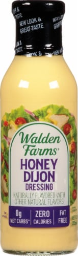 Walden Farms Honey Dijon Salad Dressing Perspective: front