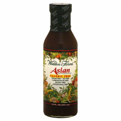 Walden Farms Asian Fat Free Oriental Dressing Perspective: front