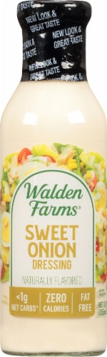 Walden Farms Calorie Free Jersey Sweet Onion Dressing Perspective: front