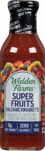 Walden Farms Calorie Free Super Fruits Balsamic Vinaigrette Dressing Perspective: front