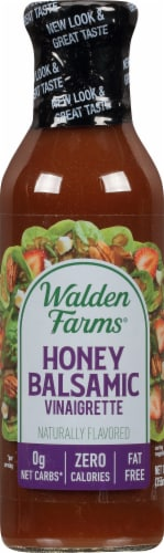 Walden Farms Calorie Free Honey Balsamic Vinaigrette Perspective: front