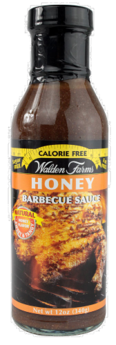 Walden Farms Calorie Free Honey Barbecue Sauce Perspective: front