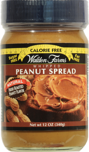 Walden Farms Whipped Peanut Spread Perspective: front