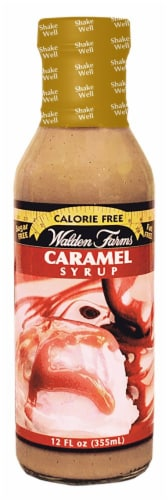 Walden Farms Caramel Syrup Perspective: front