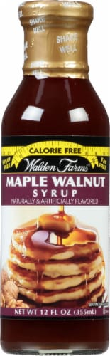 Walden Farms Maple Walnut Syrup Perspective: front