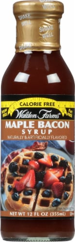 Walden Farms Maple Bacon Syrup Perspective: front