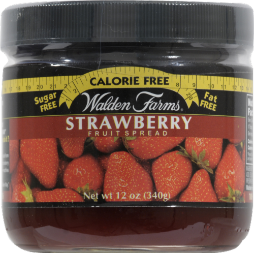 Walden Farms Strawberry Fruit Spread Perspective: front