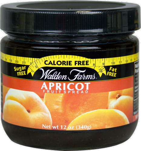 Walden Farms Apricot Fruit Spread Perspective: front