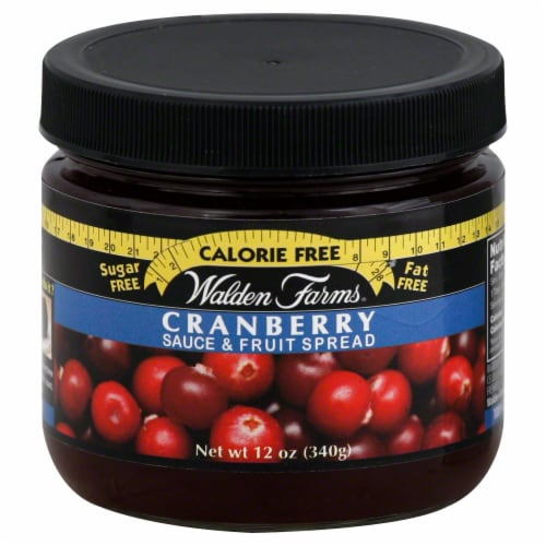 Walden Farms Calorie Free Cranberry Sauce Perspective: front