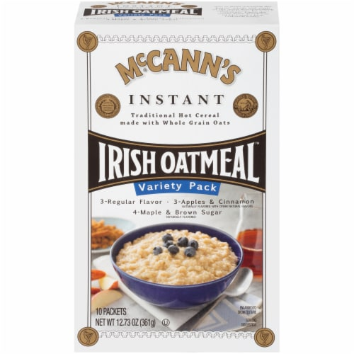 McCann's Irish Oatmeal Variety Pack Perspective: front