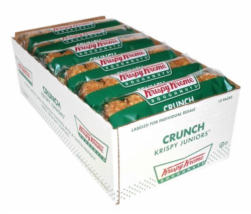 Krispy Kreme Crunch Doughnut, 3.5 Ounce -- 12 per case. Perspective: front