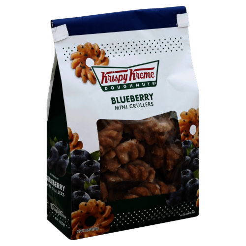 Krispy Kreme Blueberry Mini Crullers Perspective: front