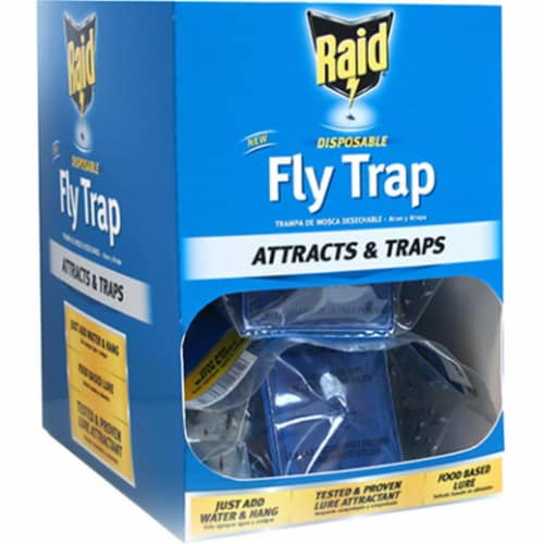 Raid® Disposable Fly Trap Perspective: front