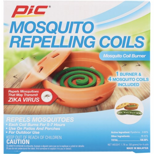 PIC® Mosquito Repelling Coil Burner Perspective: front