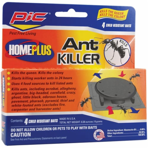 Home Plus AT-4AB Plastic Ant Killing Bait Stations Perspective: front