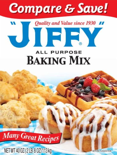 Jiffy All Purpose Baking Mix Perspective: front