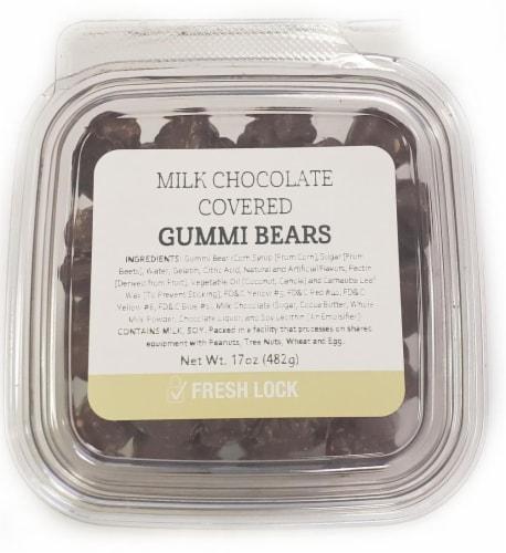 Torn & Glasser Milk Chocolate Gummi Bears Perspective: front