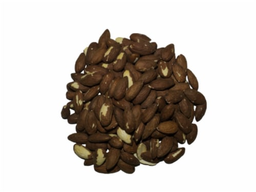 Torn & Glasser Dry Roasted Unsalted Almonds Perspective: front