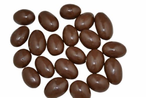 Torn & Glasser Milk Chocolate Almonds Perspective: front