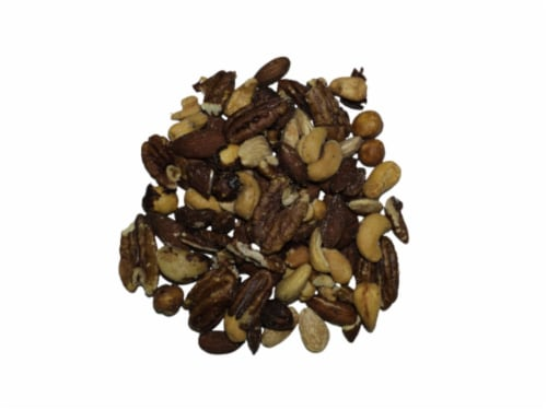 Torn & Glasser Roasted and Salted Mixed Nuts Perspective: front